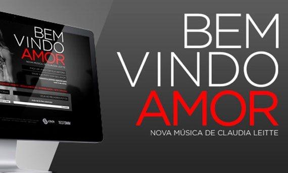 Claudia Leitte lança um hotsite para divulgar sua nova música de trabalho
