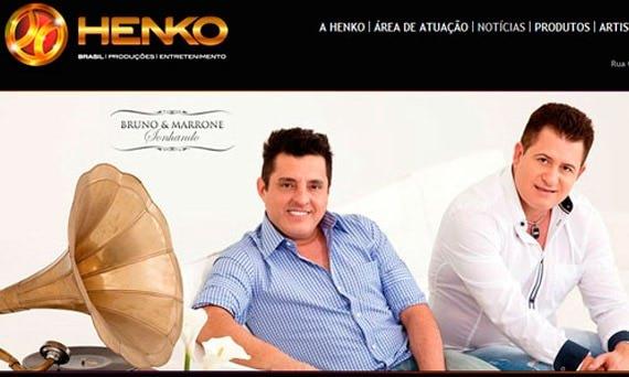 Henko Produções. Uma parceria de sucesso