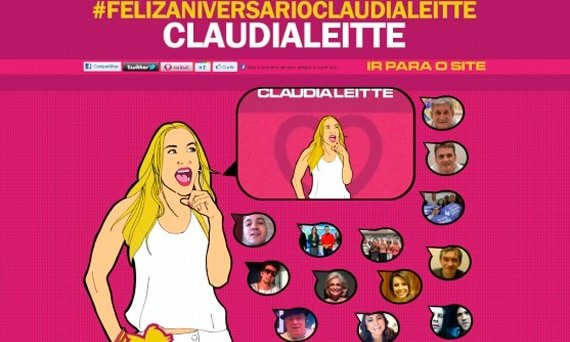 Aniversário Claudia Leitte
