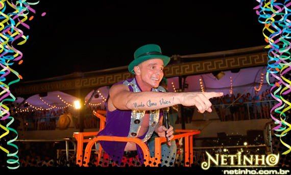Carnaval 2011: Click Interativo no carnaval de Netinho