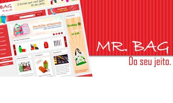 Nosso mais novo trabalho: Site da Mr. Bag