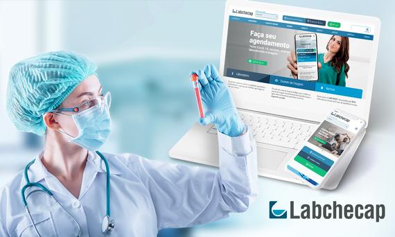 Labchecap investe em novo site com tecnologias diferenciadas
