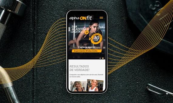 Alpha ONfit é o mais novo cliente