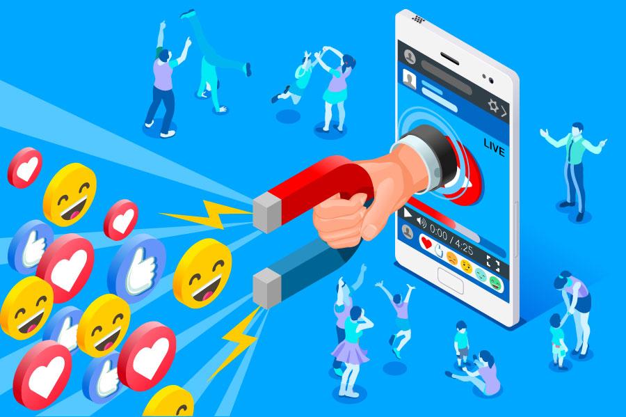 Influenciadores digitais - Click Interativo