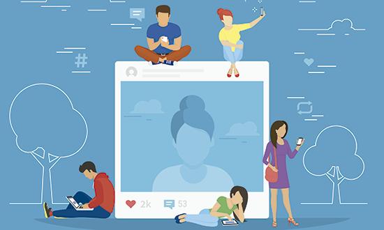 Gerenciamento de redes sociais - Click Interativo