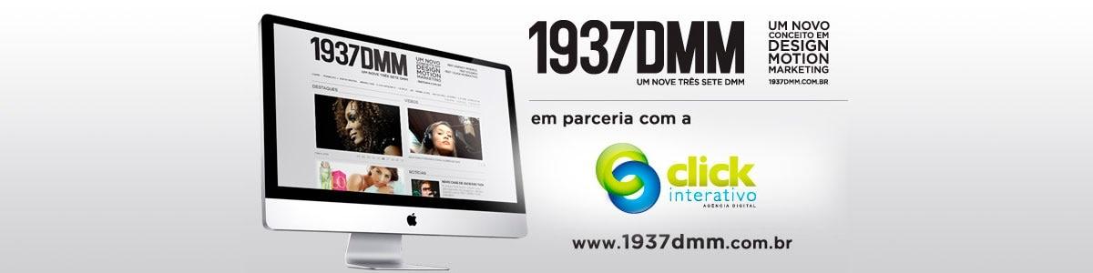 Em parceria com a Click Interativo, a agência 1937DMM lança seu Website