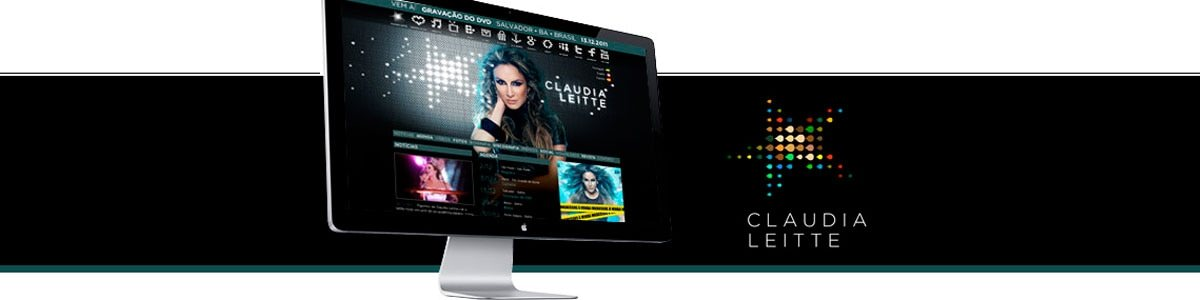 Claudia Leitte lança novo site