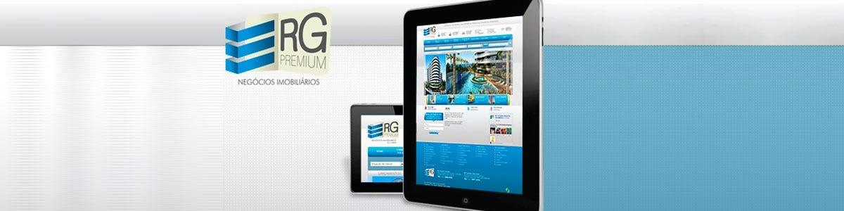 Novo Site da RG Premium. Seu imóvel através de um clique