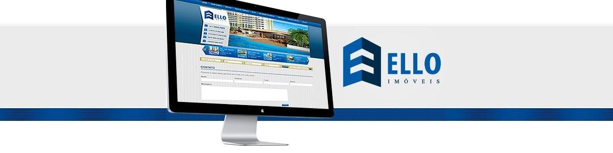 Ello Imóveis. Novo site com a qualidade da Click Interativo