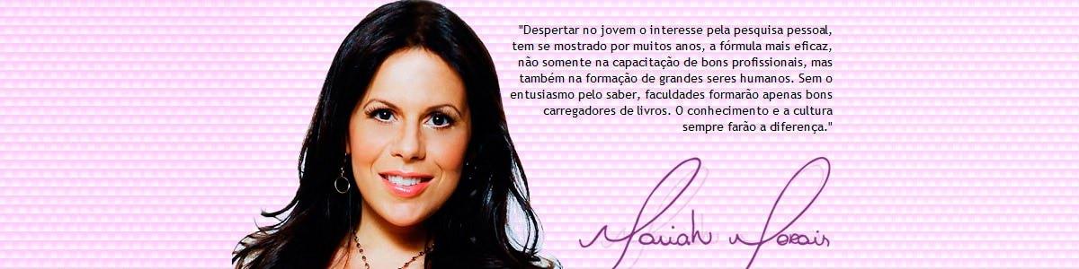 Mariah Morais apresenta projeto web