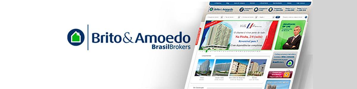 Novo site da Brito & Amoedo