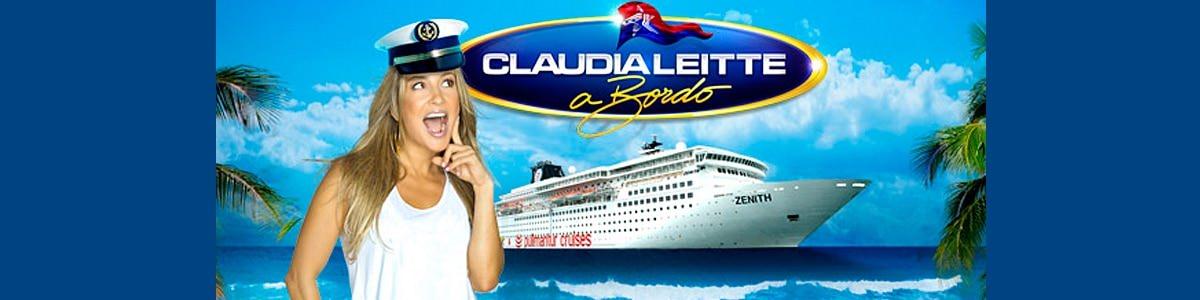 A bordo com Claudia Leitte