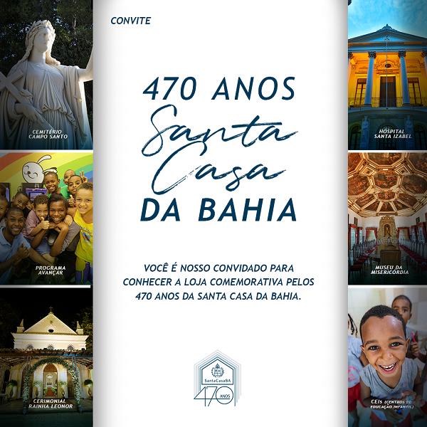 Santa Casa de Misericórdia lança loja em comemoração aos seus 470 anos de história