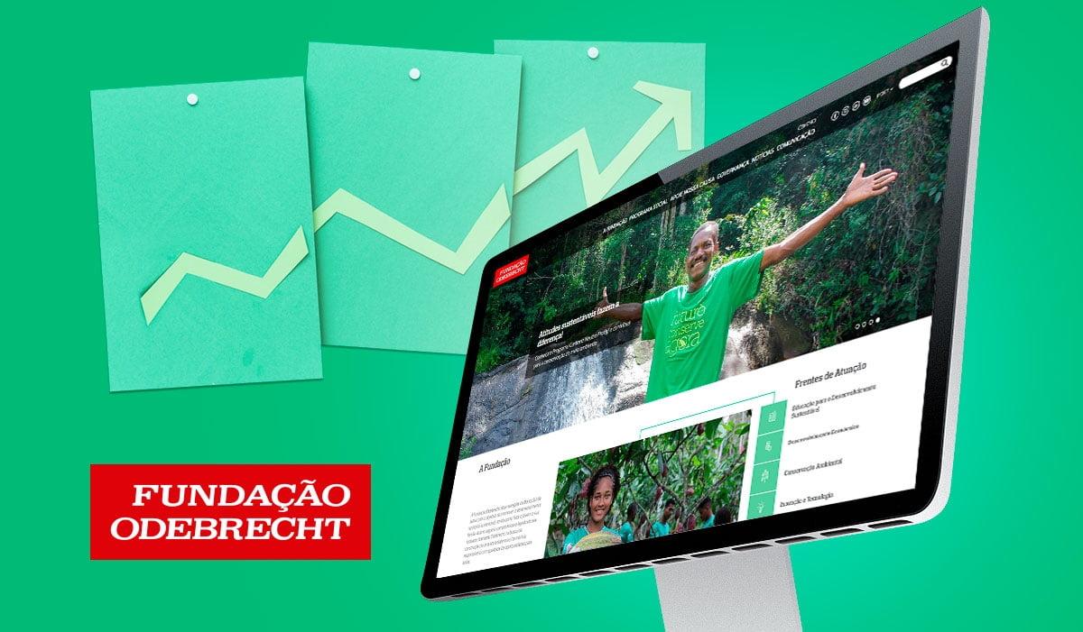 Click Interativo desenvolve novo site para a Fundação Odebrecht.