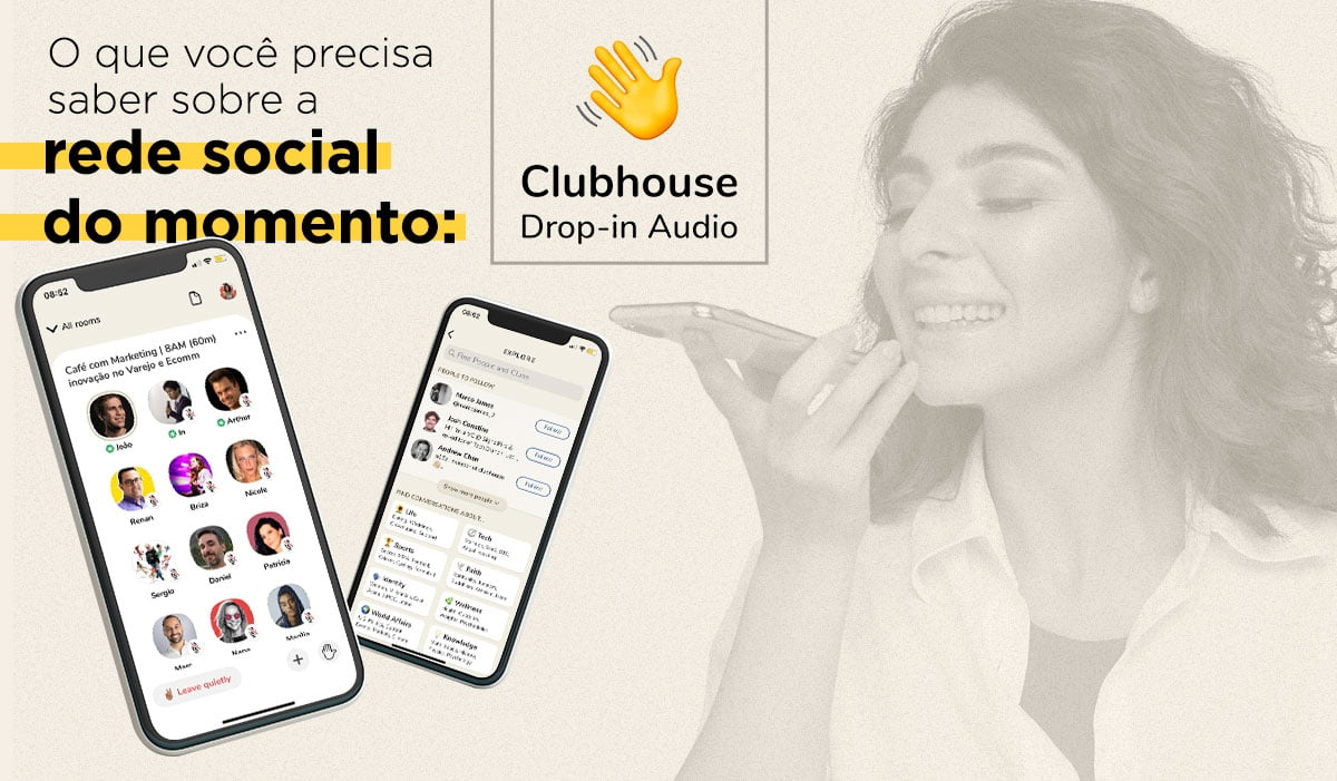 O que você precisa saber sobre a nova rede social Clubhouse
