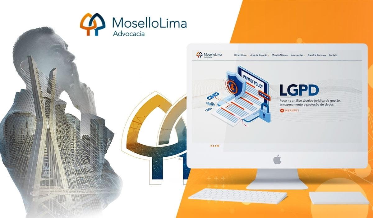 Um dos maiores escritórios de advocacia divulga o novo site, com muita tecnologia