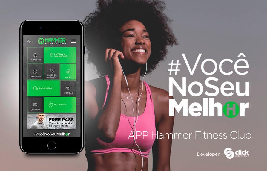 Aplicativo Hammer Fitness Club 2017