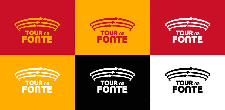 Aplicações da Logo Tour na Fonte - Click Interativo