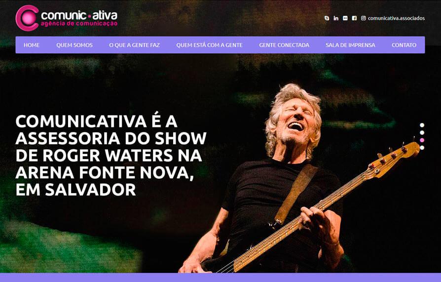 Site Comunicativa 2018 - Click Interativo