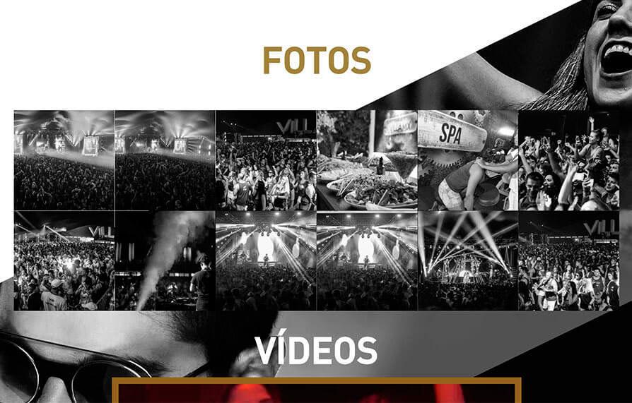Site Camarote Villa Mix 2017 - Click Interativo