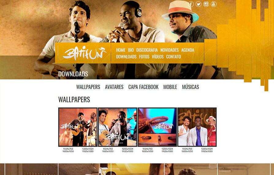 Site Batifun 2013 - Click Interativo