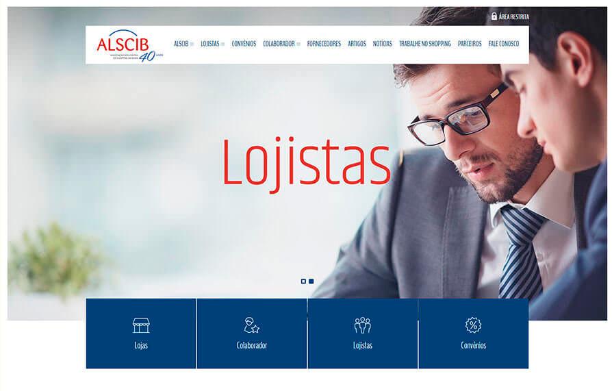 Site da ALSCIB 2016 - Click Interativo