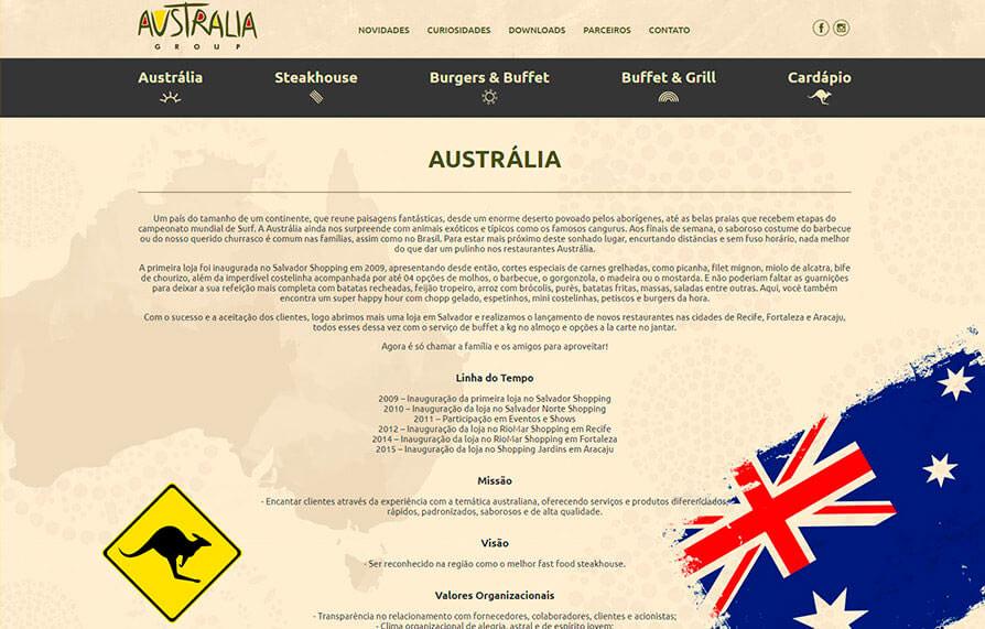 Australia Steak House 2016 - Click Interativo
