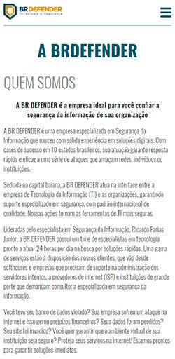 Site BR Defender 2016 - Click Interativo