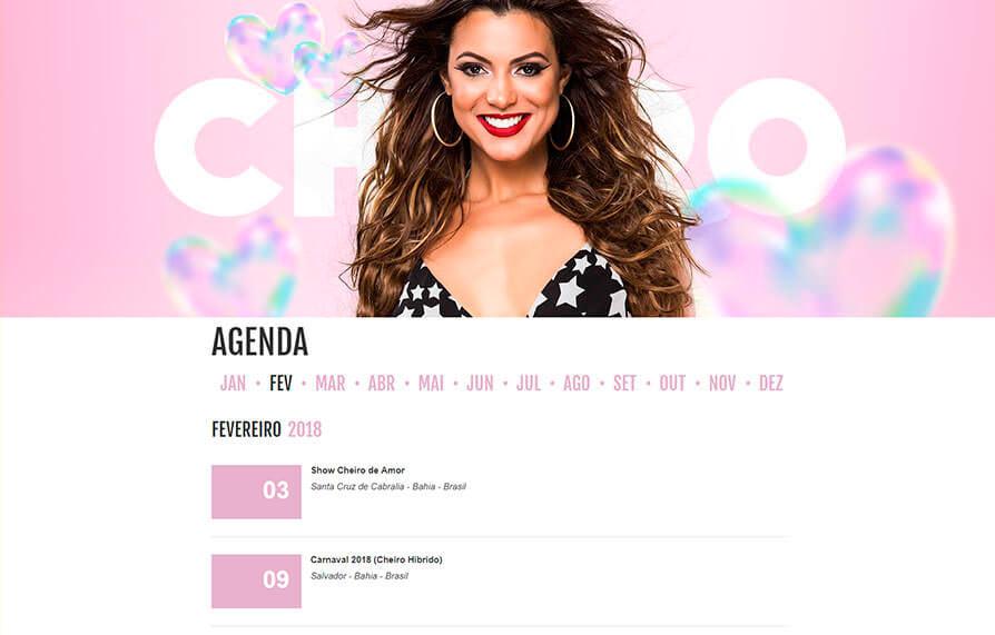 Site Cheiro de Amor 2014 - Click Interativo