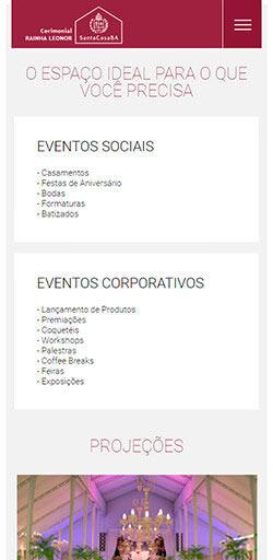 Site Cerimonial Rainha Leonor 2016 - Click Interativo