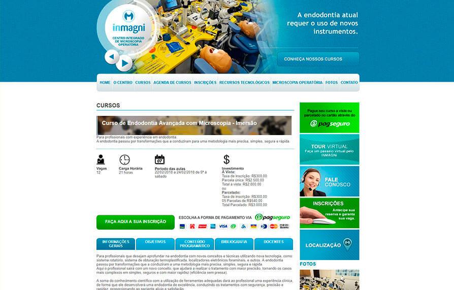 Site Inmagni 2012 - Click Interativo