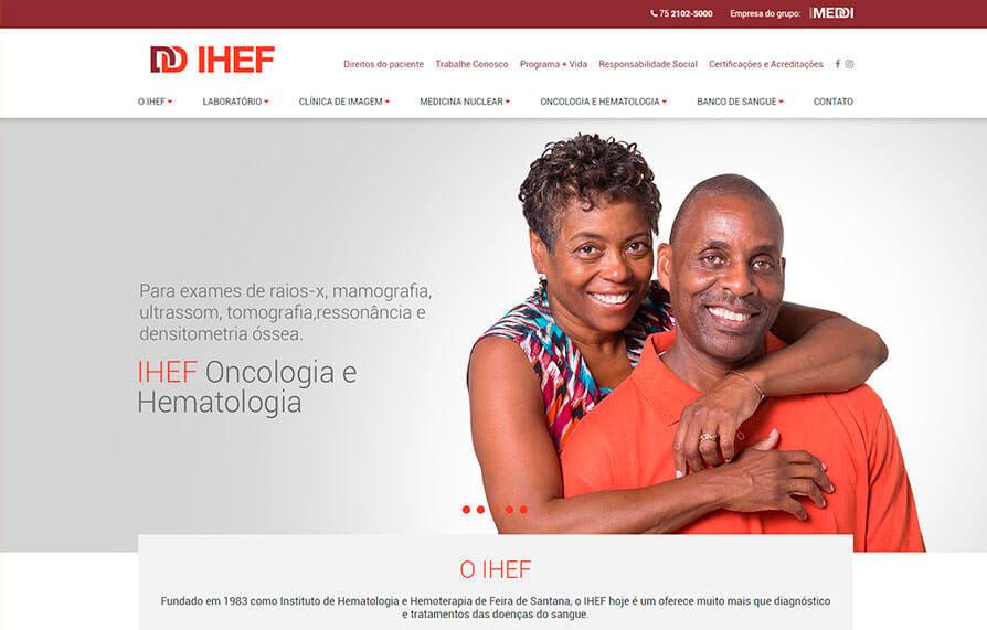 Site IHEF 2017 - Click Interativo