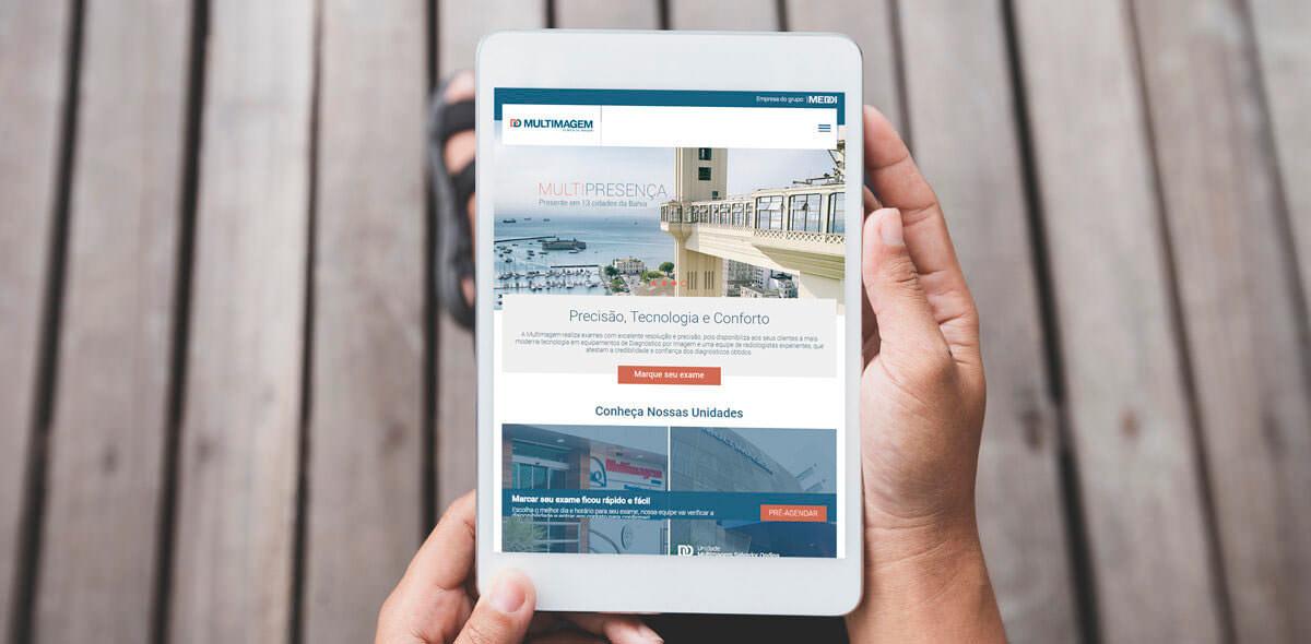 Site Multimagem 2016 - Click Interativo
