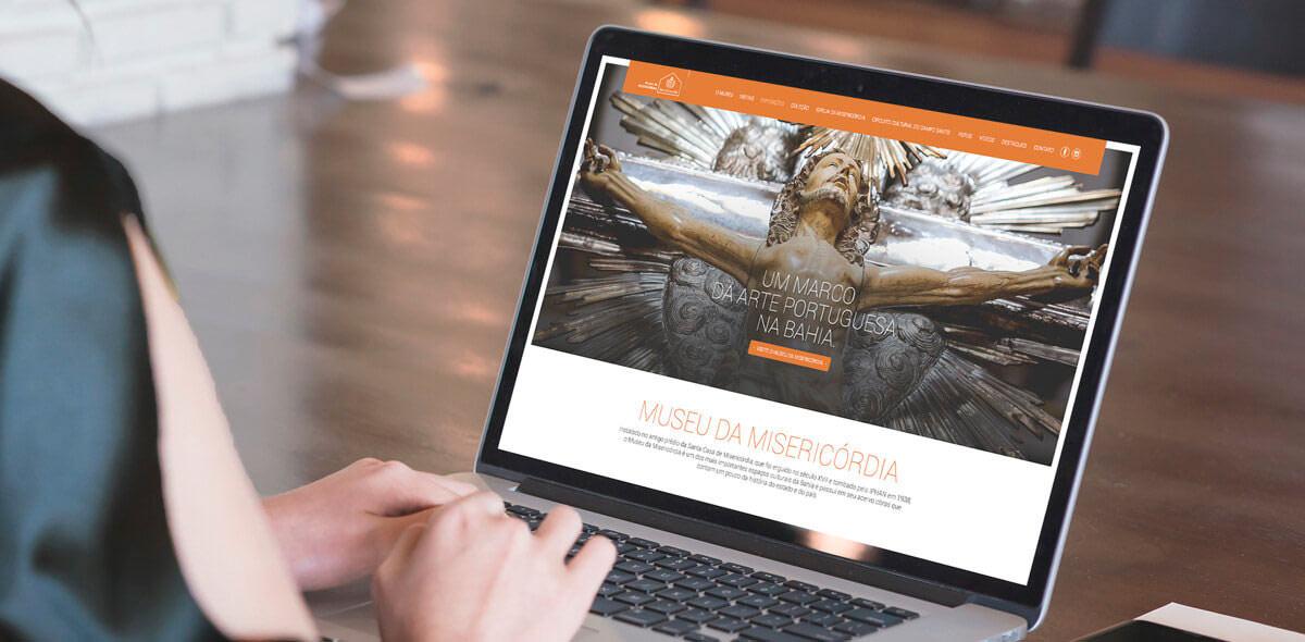 Site Museu da Misericórdia 2017 - Click Interativo