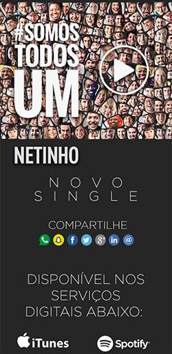 Landing Page do Sigle #SomosTodosUm de Netinho – Click Interativo