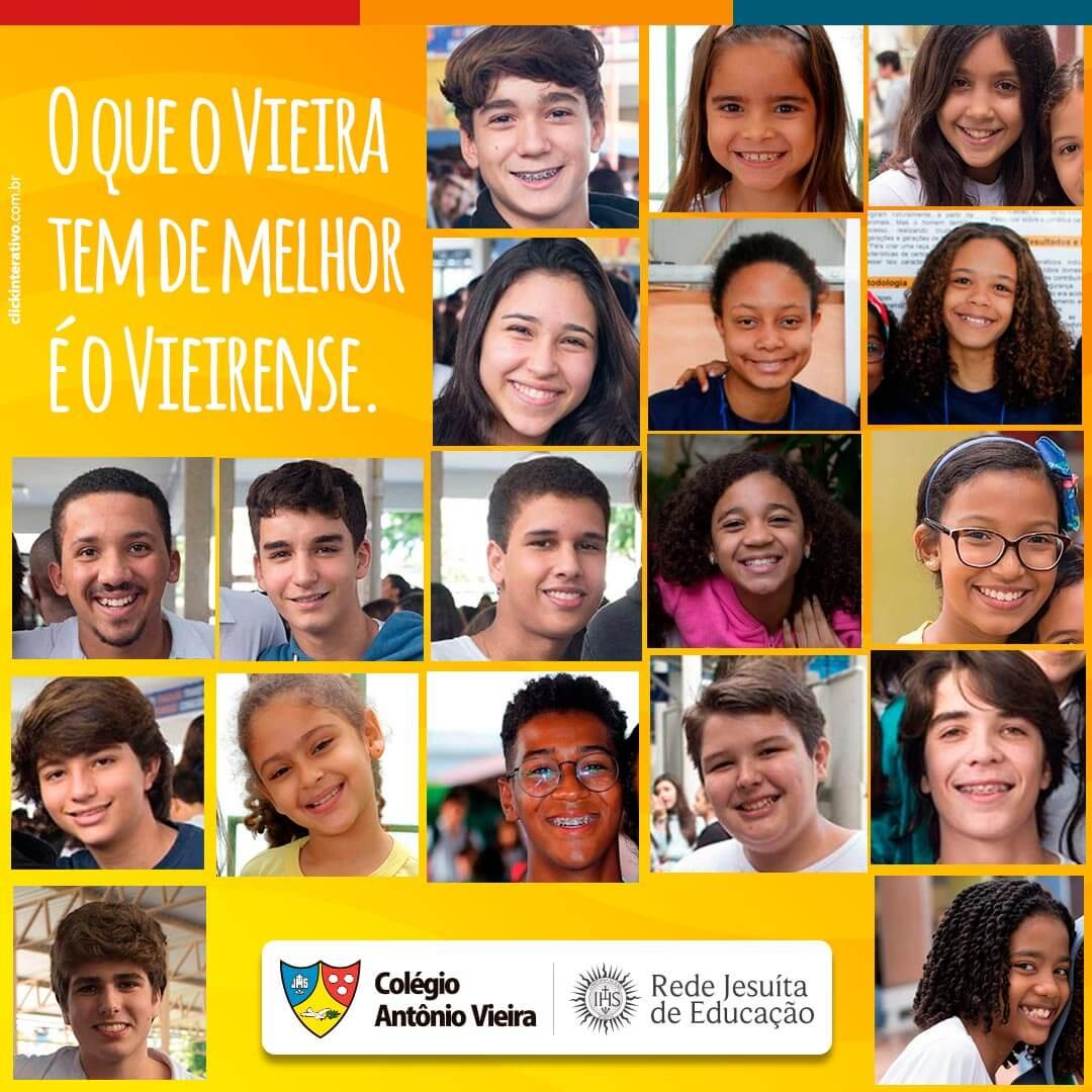 O que o Vieira tem de sobra é muito amor por todos os vieirenses! <3 <3 <3   #ColégioAntônioVieira #Vieira2018 #JesuitasBrasil #RedeJesuitaDeEducação #RedeJesuita #RJE   www.colegioantoniovieira.com.br