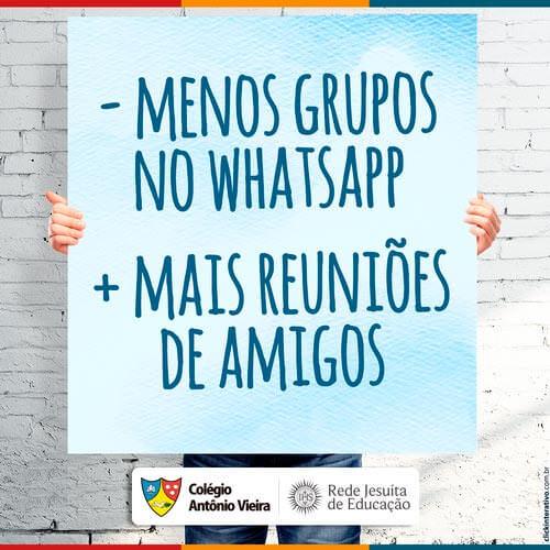Aproveite o final de semana e se reúna com os amigos! Marque agora sua galera neste post!   #ColégioAntônioVieira #Vieira2017 #JesuitasBrasil #RedeJesuitaDeEducação #RedeJesuita #RJE   www.colegioantoniovieira.com.br