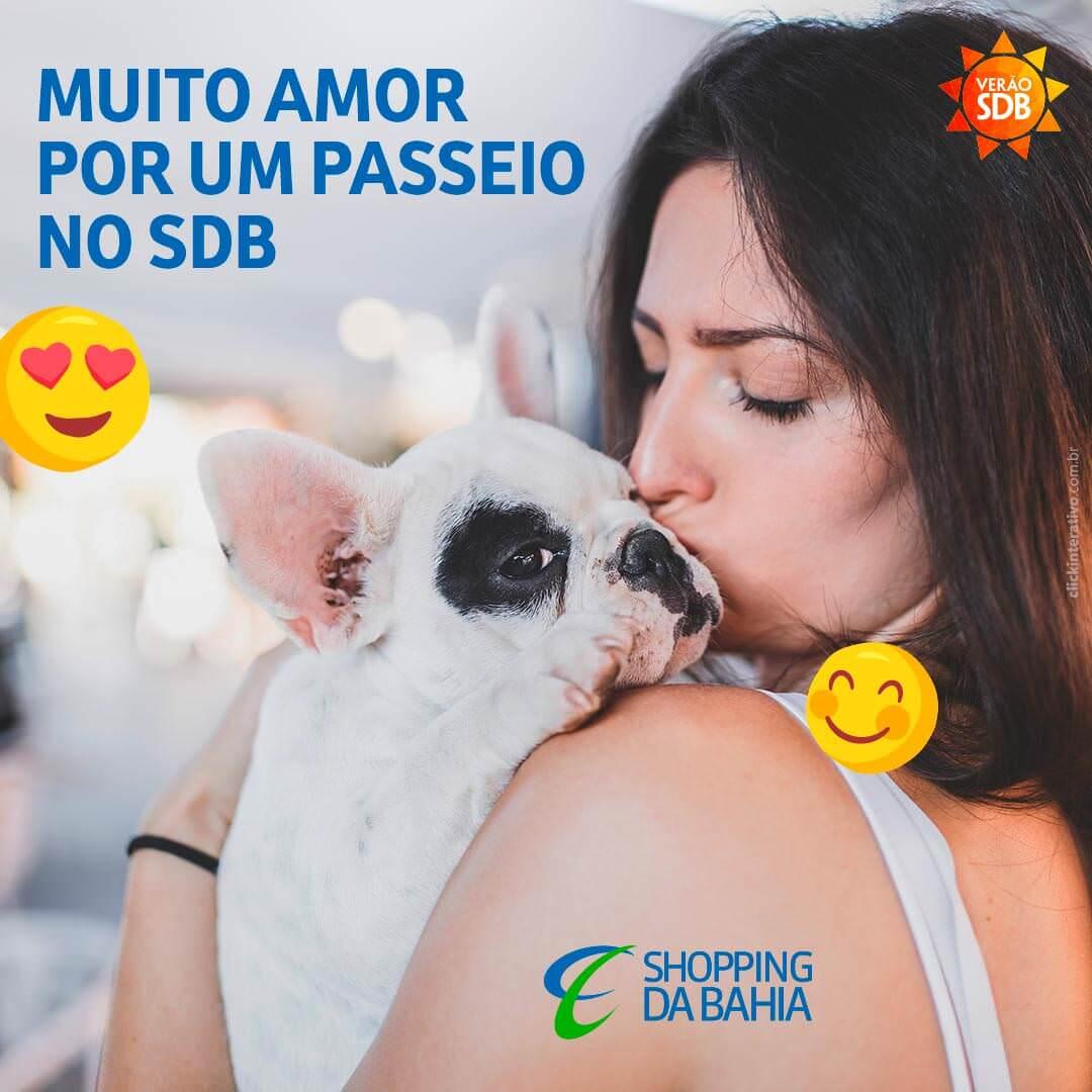 Quando você pega a coleira o seu cãozinho abana o rabo feliz? Nós temos certeza de que ele já aprendeu que o passeio de sexta é no SDB. ;)   #ShoppingDaBahia #SDB #PetFriendly #Animais #Pets #BichinhosDeEstimação #Salvador #Bahia #DogNoChão #VerãoSDB #VerãoDaBahia #OShoppingDoVerãoDaBahia #SouDaBahia   Consulte regulamento pet friendly completo no nosso site.
