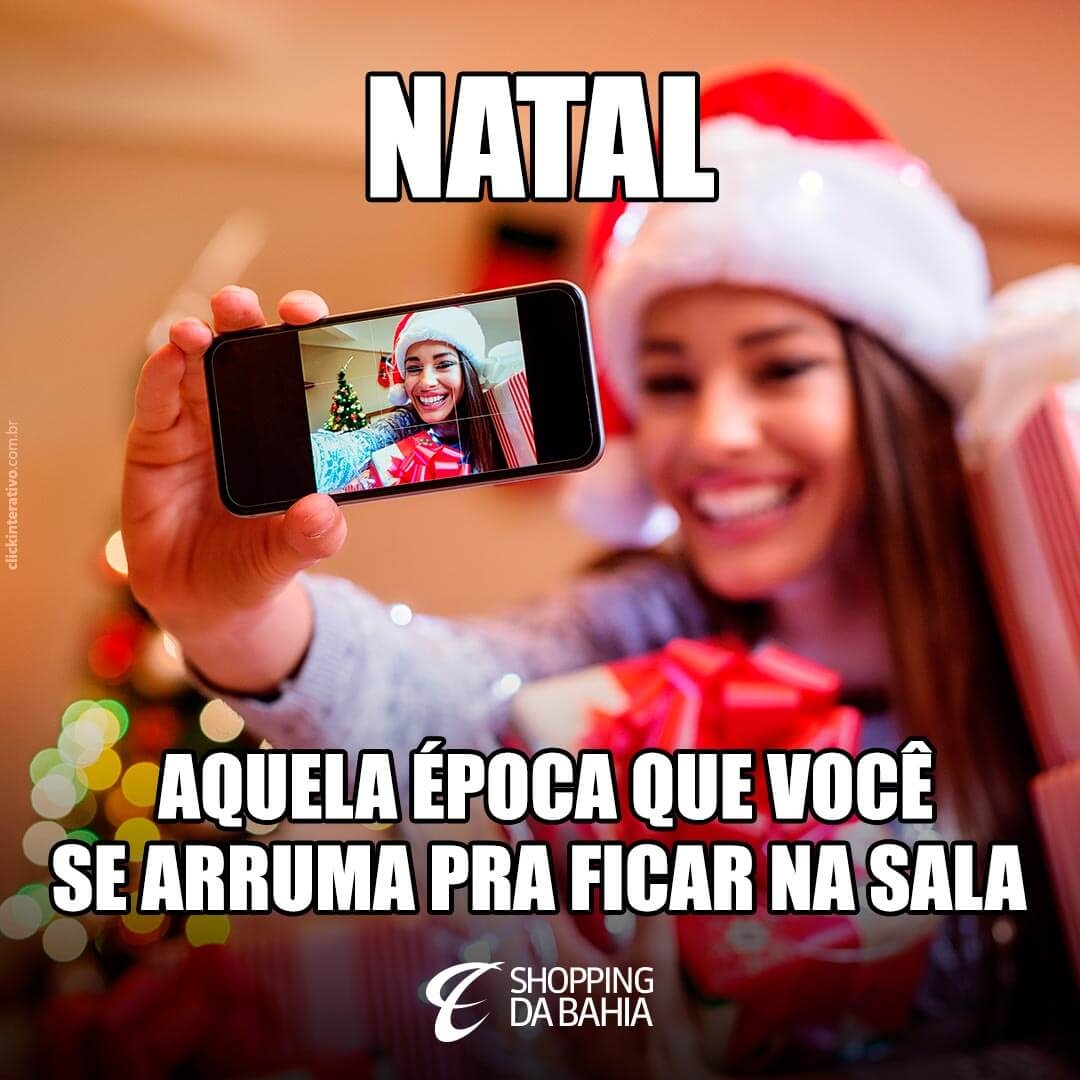 Ah, vai... Todo mundo passa por isso! ??   Mas a gente simplesmente AMA esses momentos com a família para aproveitar a ceia, jogar conversa fora e trocar presentes. \o/ Passe aqui no Shopping da Bahia pra garantir o seu look ceia! ;)   #VemNatal! <3   #LookCeia #ShoppingDaBahia #SDB #Natal #NatalSDB #NatalShoppingDaBahia #Família #FelizNatal #Salvador #Bahia