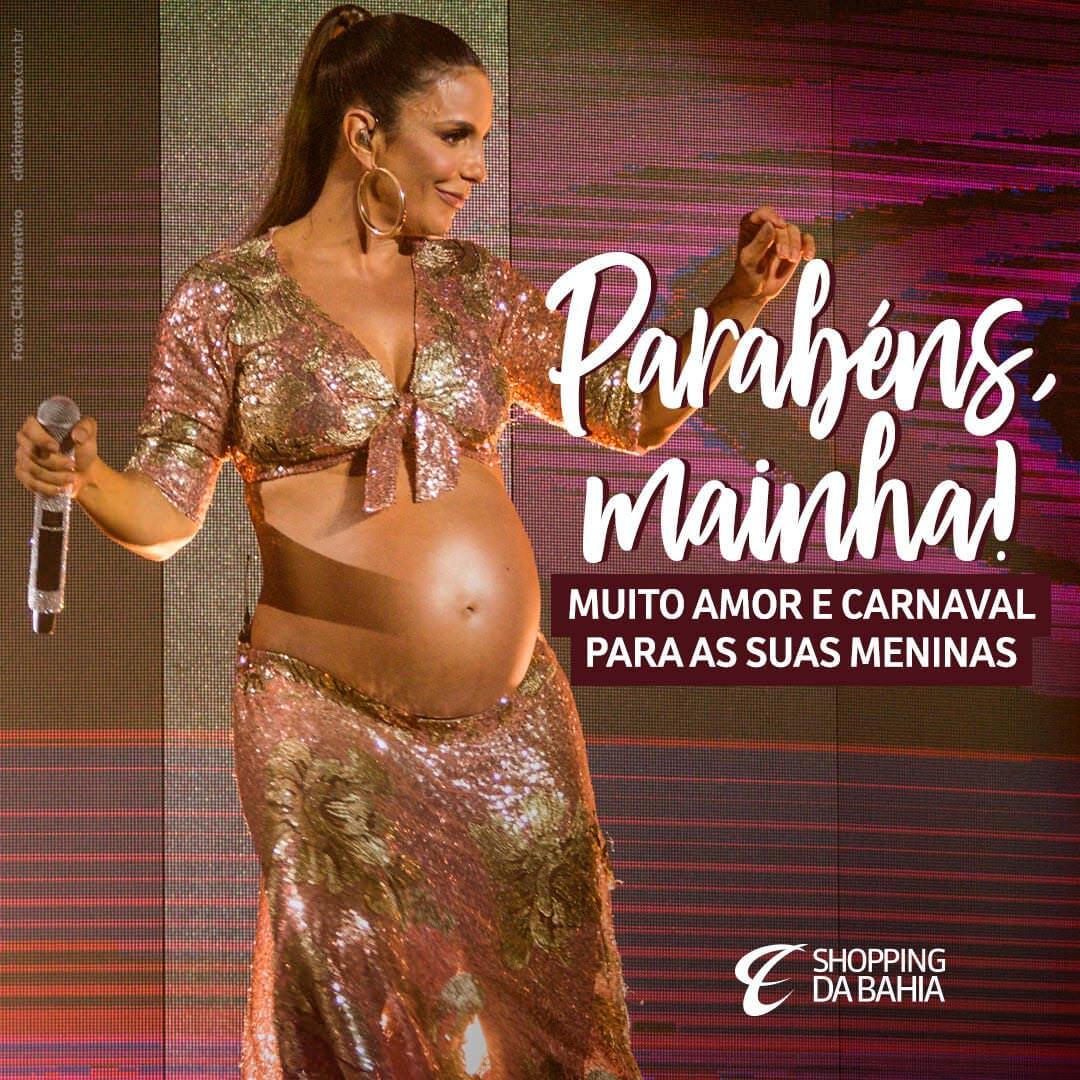 O reino baiano acaba de ganhar duas princesas, Marina e Helena! ???? Desejamos saúde, amor, axé e luz para toda sua familía, @ivetesangalo !  #ShoppingDaBahia #SDB #IveteSangalo #Veveta #Salvador #Bahia #VerãoSDB #VerãoDaBahia #OShoppingDoVerãoDaBahia #SouDaBahia