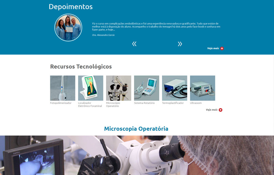 Inmagni - Site Responsivo 2018 - Click Interativo