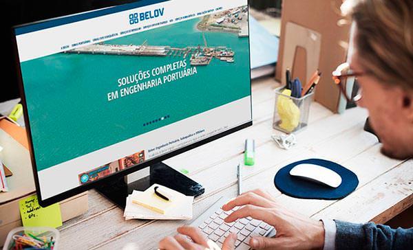 Site Responsivo da Belov 2017