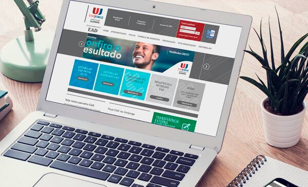 Website Unijorge EAD