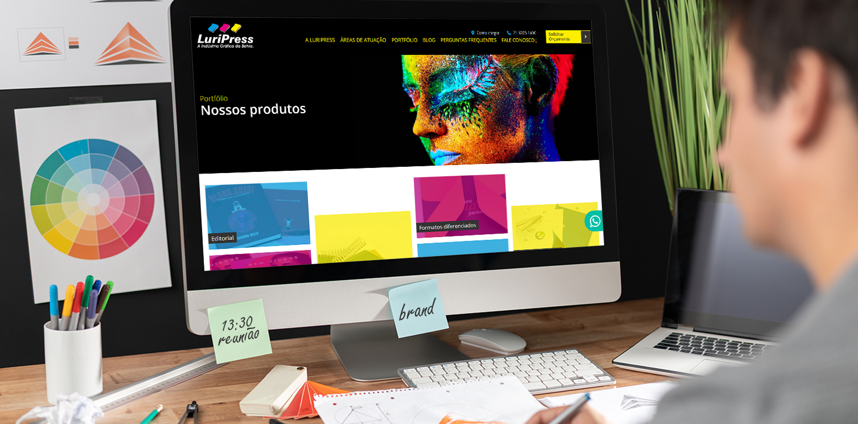 Website Gráfica Luripress